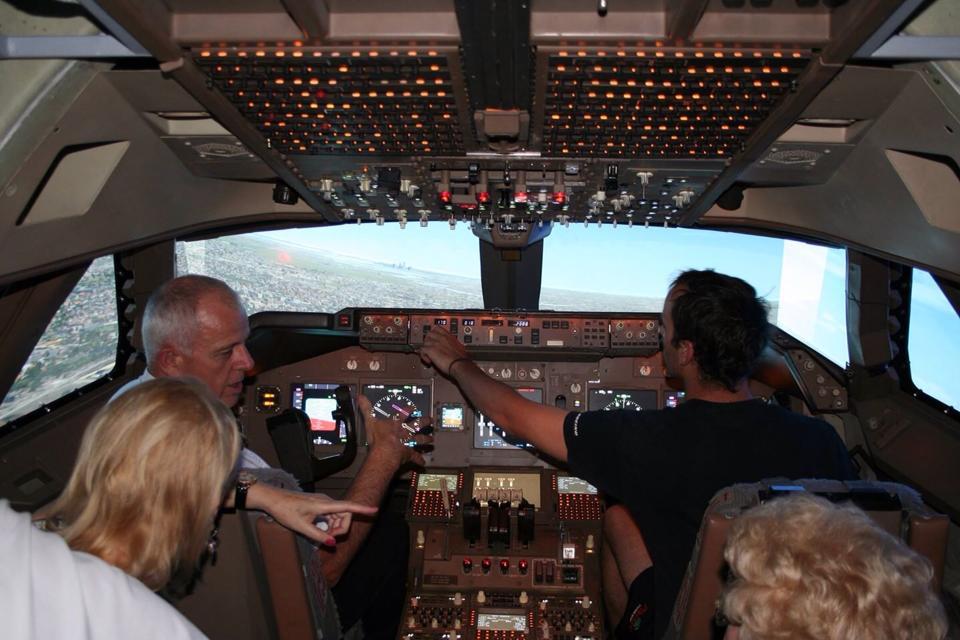 747 JUMBO JET SERIOUS FUN-120 MINUTES